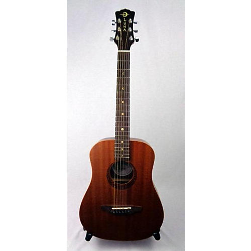 Luna Guitars Safari Mahogany 3/4 Acoustic Guitar