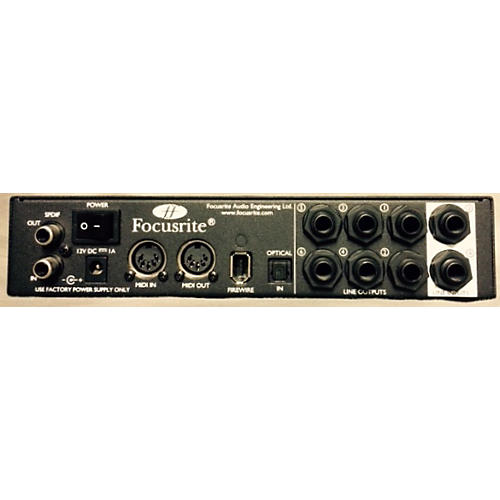 Focusrite Saffire PRO24 Black Audio Interface