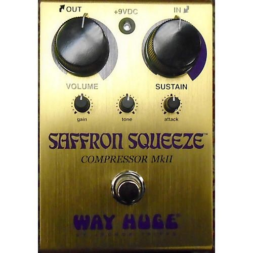 Way Huge Electronics Saffron Squeeze MkII Effect Pedal