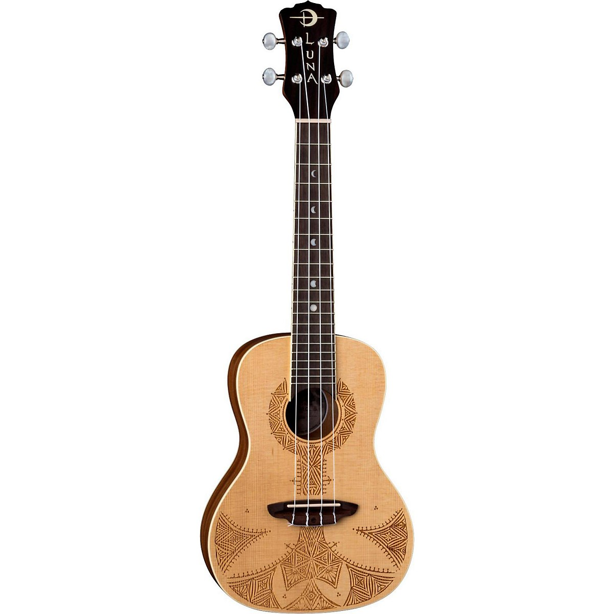 Luna Guitars Sahara Spruce Ukulele