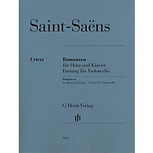 G. Henle Verlag Saint-Saëns - Romances for Horn and Piano Henle Music by Saint-Saëns Edited by Dominik Rahmer