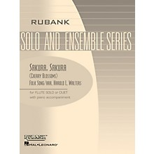 Rubank Publications Sakura, Sakura (Cherry Blossoms) (Flute Solo/Duet with Piano - Grade 2) Rubank Solo/Ensemble Sheet Series