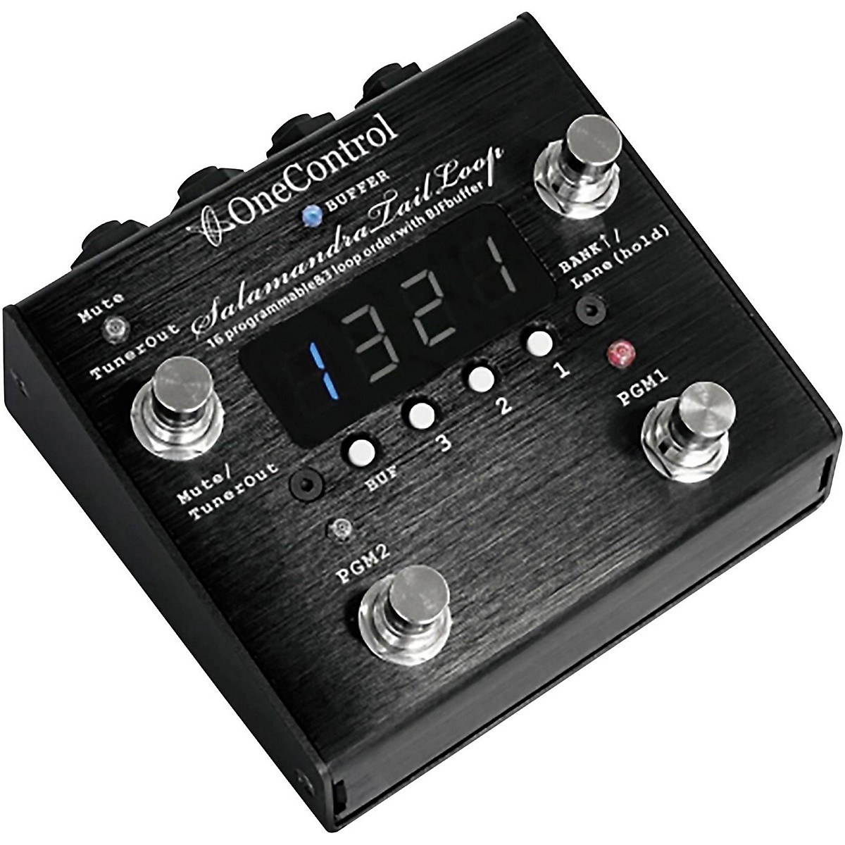 One Control Salamandra Tail Loop Programmable Effect Switcher