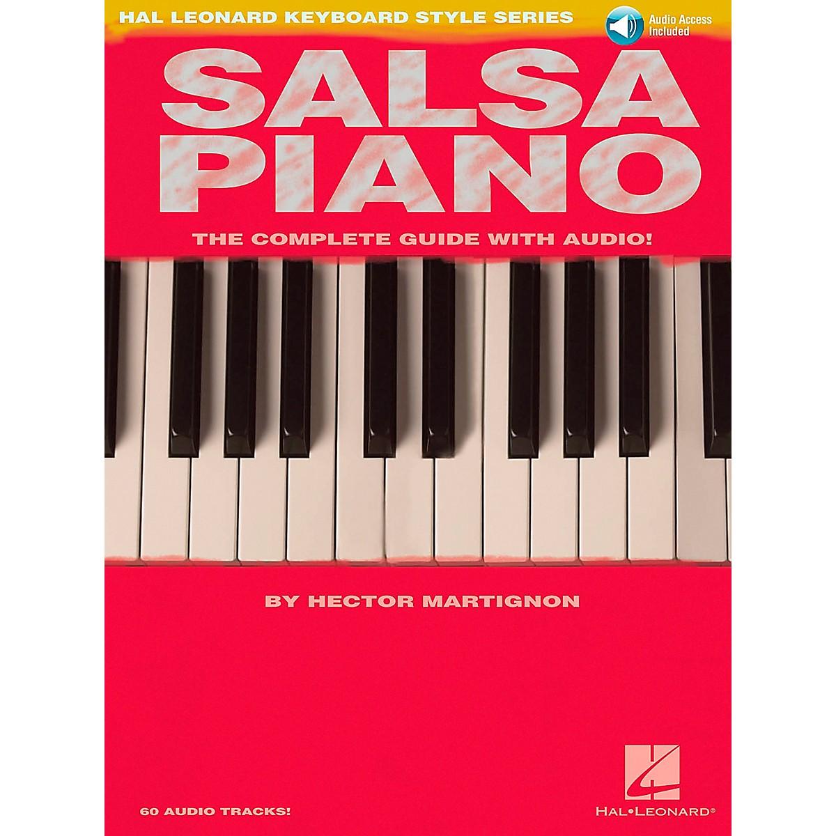 Hal Leonard Salsa Piano Book/CD Hal Leonard Keyboard Style Series