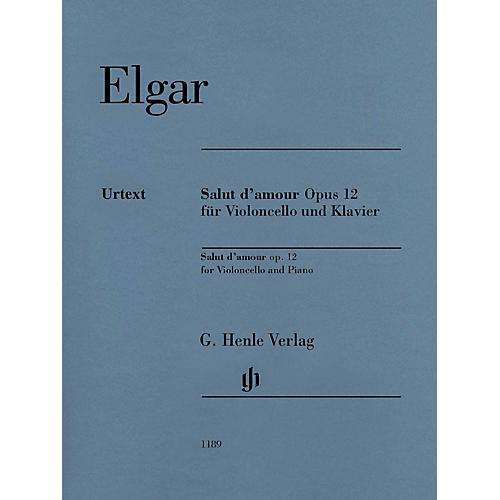 G. Henle Verlag Salut d'amour Op. 12 Henle Music Folios Series Softcover
