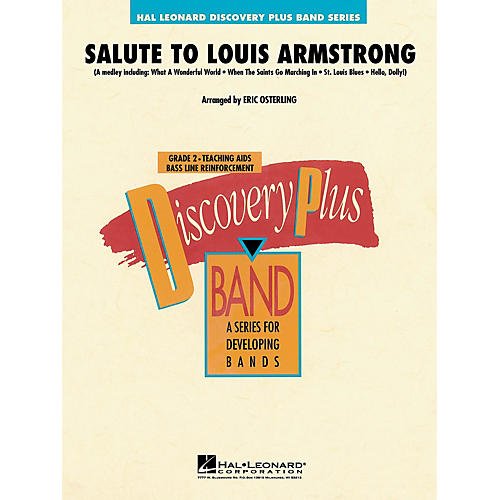 Hal Leonard Salute to Louis Armstrong - Discovery Plus Concert Band Series Level 2 arranged by Eric Osterling