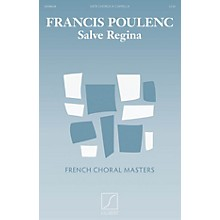 Salabert Salve Regina (SATB a cappella) SATB Composed by Francis Poulenc