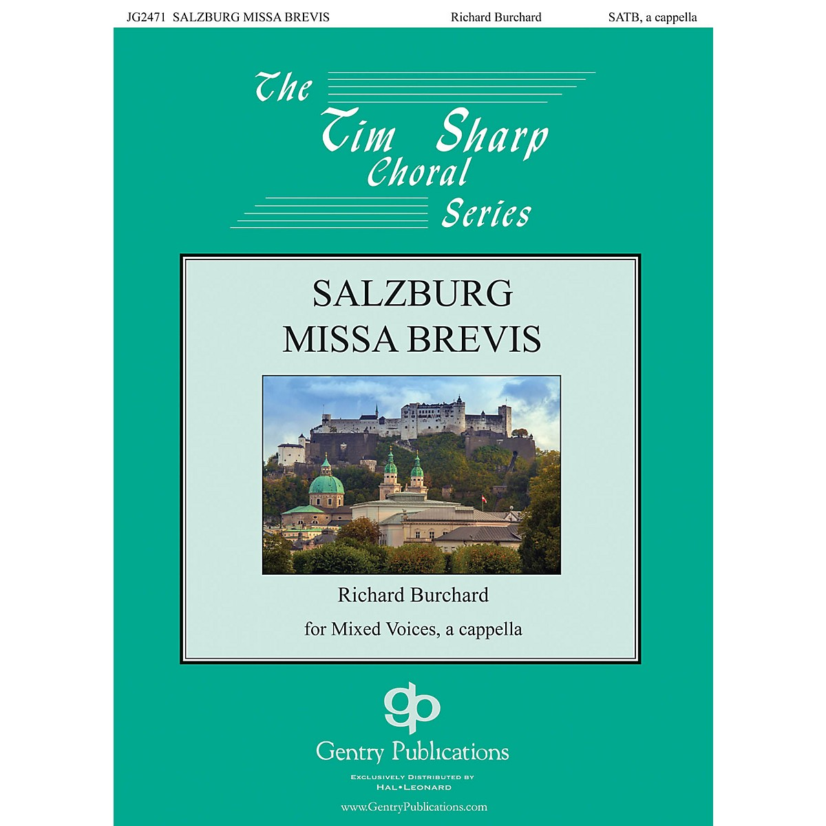 Gentry Publications Salzburg Missa Brevis SATB a cappella composed by Richard Burchard