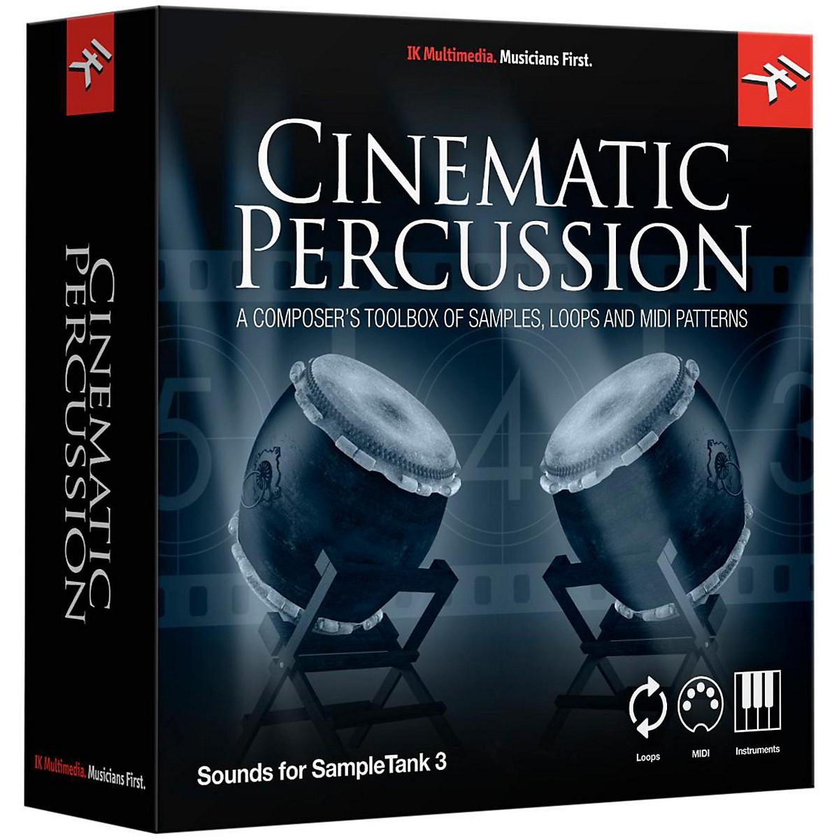 IK Multimedia SampleTank 3 Instrument Collection - Cinematic Percussion