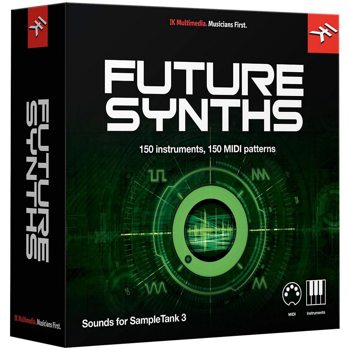 IK Multimedia SampleTank 3 Instrument Collection - Future Synths