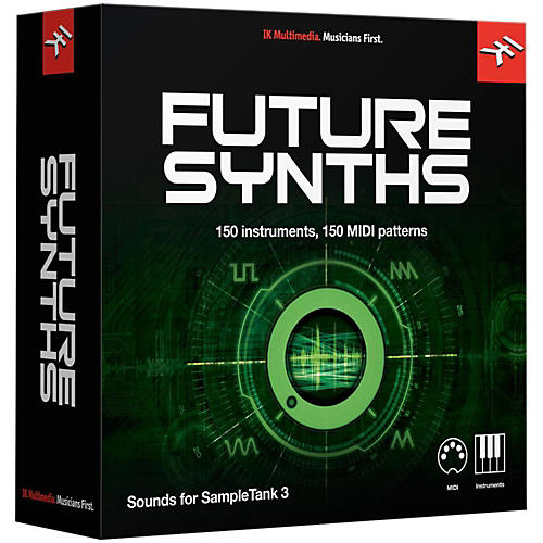 IK Multimedia SampleTank 3 Instrument Collection - Future Synths