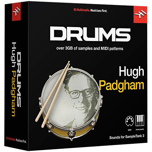 IK Multimedia SampleTank 3 Instrument Collection - Hugh Padgham