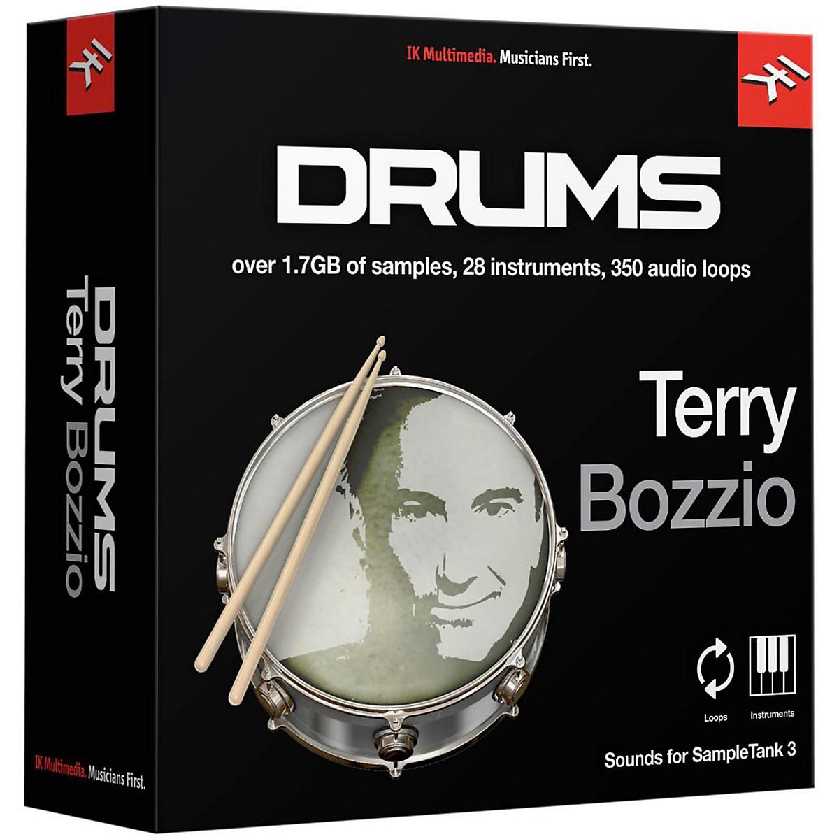 IK Multimedia SampleTank 3 Instrument Collection - Terry Bozzio Drums