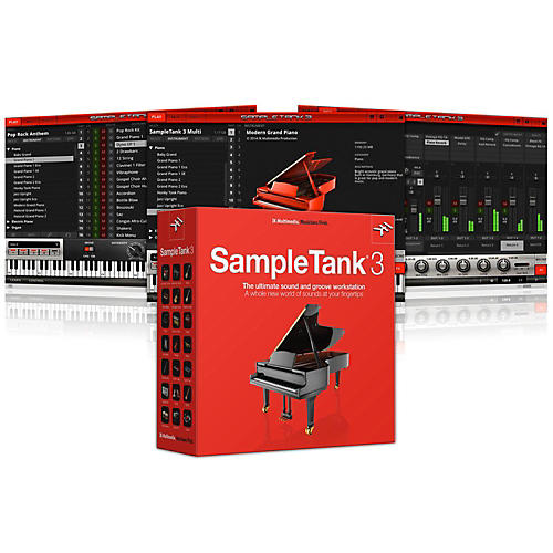 IK Multimedia SampleTank 3 Software Download