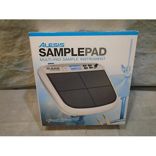 Alesis Samplepad Limited Edition White Drum MIDI Controller
