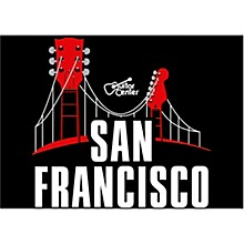 Guitar Center San Francisco Guitar Bridge Graphic Magnet