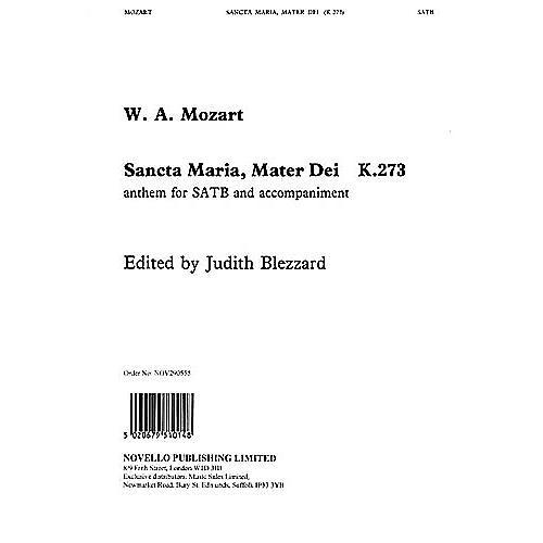 Novello Sancta Maria, Mater Dei (K.273) SATB