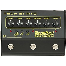 Tech 21 SansAmp 3-Channel Programmable Bass Driver DI