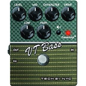 tech 21 sansamp character series vt bass v2 distortion bass effects pedal guitar center. Black Bedroom Furniture Sets. Home Design Ideas