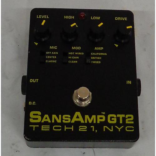 Tech 21 Sansamp GT2 Tube Amp Emulator Effect Pedal