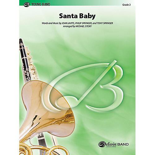 Alfred Santa Baby Concert Band Grade 2 Set