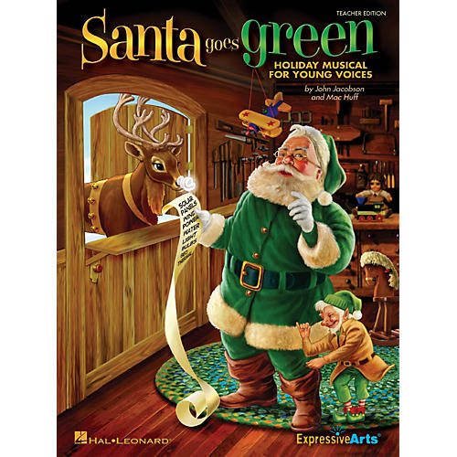 Hal Leonard Santa Goes Green (Holiday Musical for Young Voices) ShowTrax CD Composed by John Jacobson