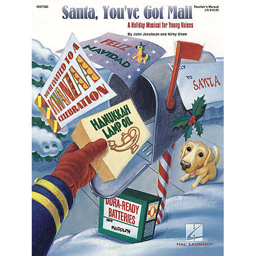 Hal Leonard Santa, You've Got Mail (Holiday Musical) ShowTrax CD Composed by Kirby Shaw