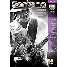 Hal Leonard Santana - Guitar Play-Along DVD Volume 36