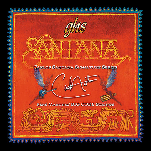GHS Santana Big Core Signature Strings Light
