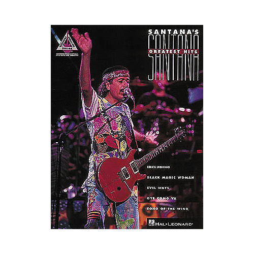 Hal Leonard Santana's Greatest Hits Guitar Tab Songbook