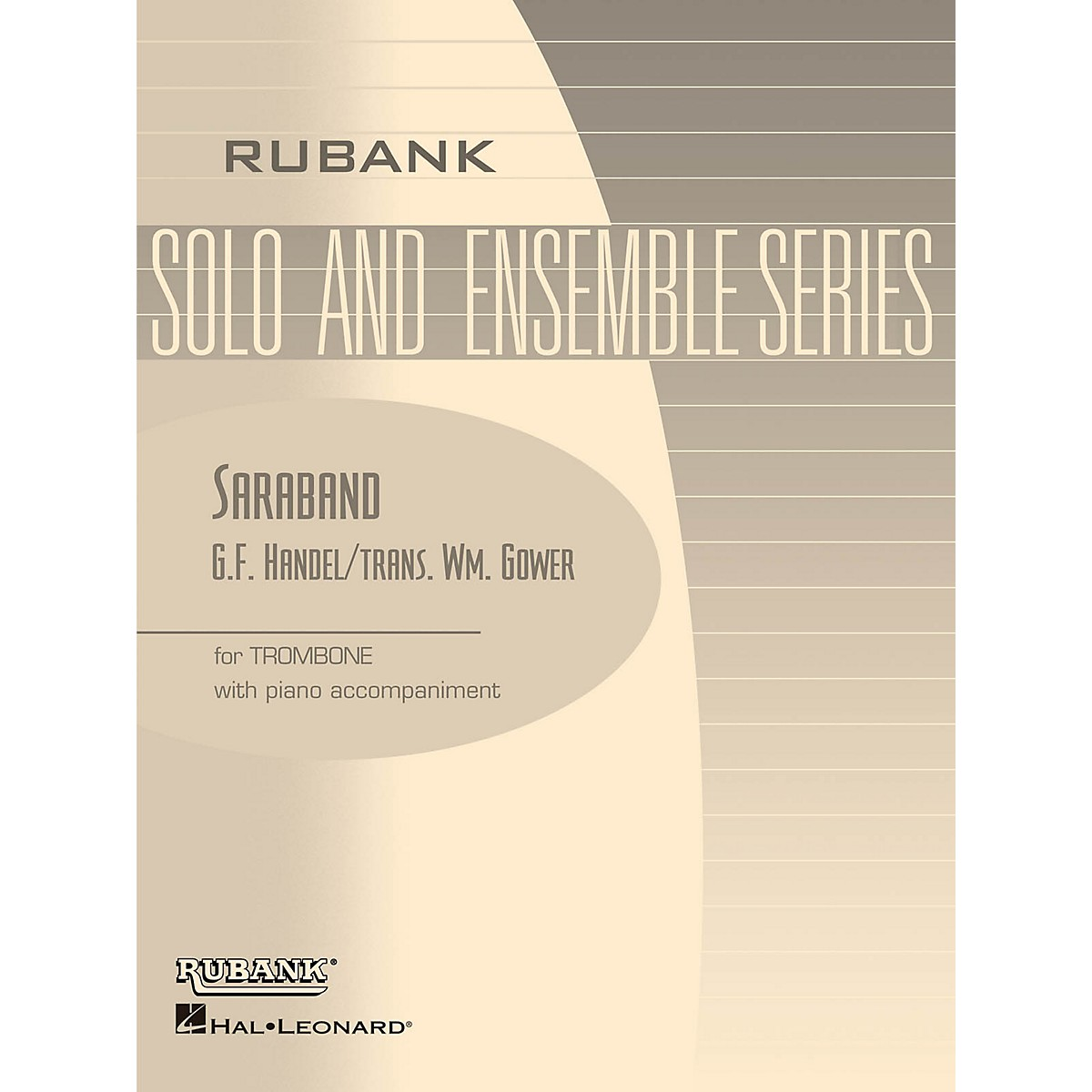 Rubank Publications Saraband (Trombone Solo with Piano - Grade 1.5) Rubank Solo/Ensemble Sheet Series