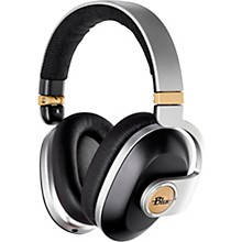BLUE Satellite Premium Noise-Cancelling Wireless Headphones with Built-In Audiophile Amp Black