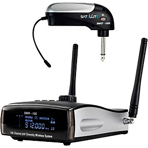 nady satellite smgt 100r true diversity wireless instrument system for electric guitar or bass. Black Bedroom Furniture Sets. Home Design Ideas