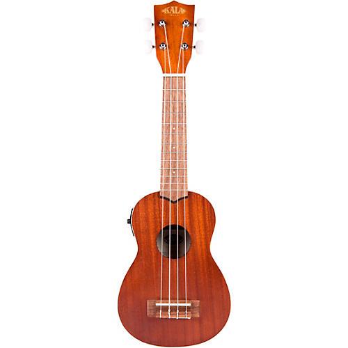 Kala Satin Mahogany Soprano Acoustic-Electric Ukulele