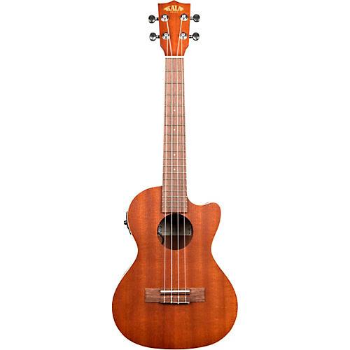 Kala Satin Mahogany Tenor Cutaway Acoustic-Electric Ukulele