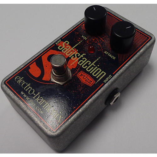used electro harmonix satisfaction fuzz effect pedal guitar center. Black Bedroom Furniture Sets. Home Design Ideas