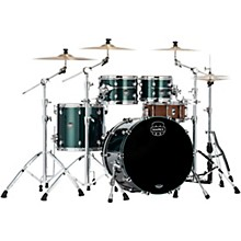 Saturn Evolution Classic Birch 4-Piece Shell Pack with 22 in. Bass Drum Brunswick Green
