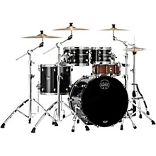 Saturn Evolution Classic Birch 4-Piece Shell Pack with 22 in. Bass Drum Piano Black