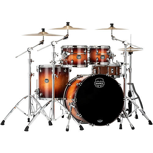 Mapex Saturn Evolution Rock Birch 4-Piece Shell Pack with 22 in. Bass Drum