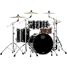 Saturn Evolution Rock Birch 4-Piece Shell Pack with 22 in. Bass Drum Piano Black