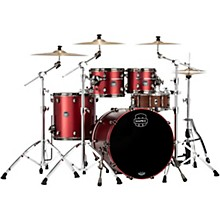 Saturn Evolution Rock Birch 4-Piece Shell Pack with 22 in. Bass Drum Tuscan Red