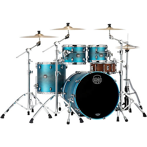 Mapex Saturn Evolution Rock Maple 4-Piece Shell Pack with 22 in. Bass Drum