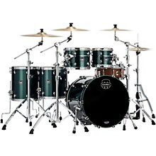 Saturn Evolution Workhorse Maple 5-Piece Shell Pack with 22 in. Bass Drum Brunswick Green