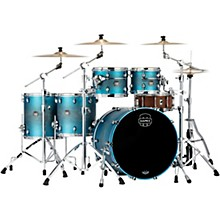 Saturn Evolution Workhorse Maple 5-Piece Shell Pack with 22 in. Bass Drum Exotic Azure Burst