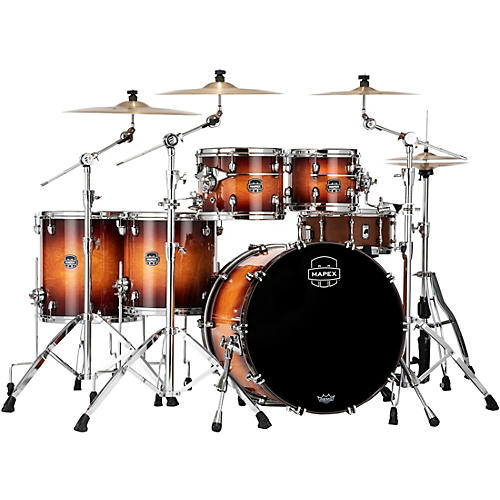 Mapex Saturn Evolution Workhorse Maple 5-Piece Shell Pack with 22 in. Bass Drum