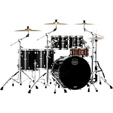 Saturn Evolution Workhorse Maple 5-Piece Shell Pack with 22 in. Bass Drum Piano Black