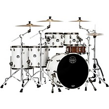 Saturn Evolution Workhorse Maple 5-Piece Shell Pack with 22 in. Bass Drum Polar White