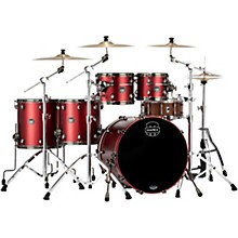 Saturn Evolution Workhorse Maple 5-Piece Shell Pack with 22 in. Bass Drum Tuscan Red