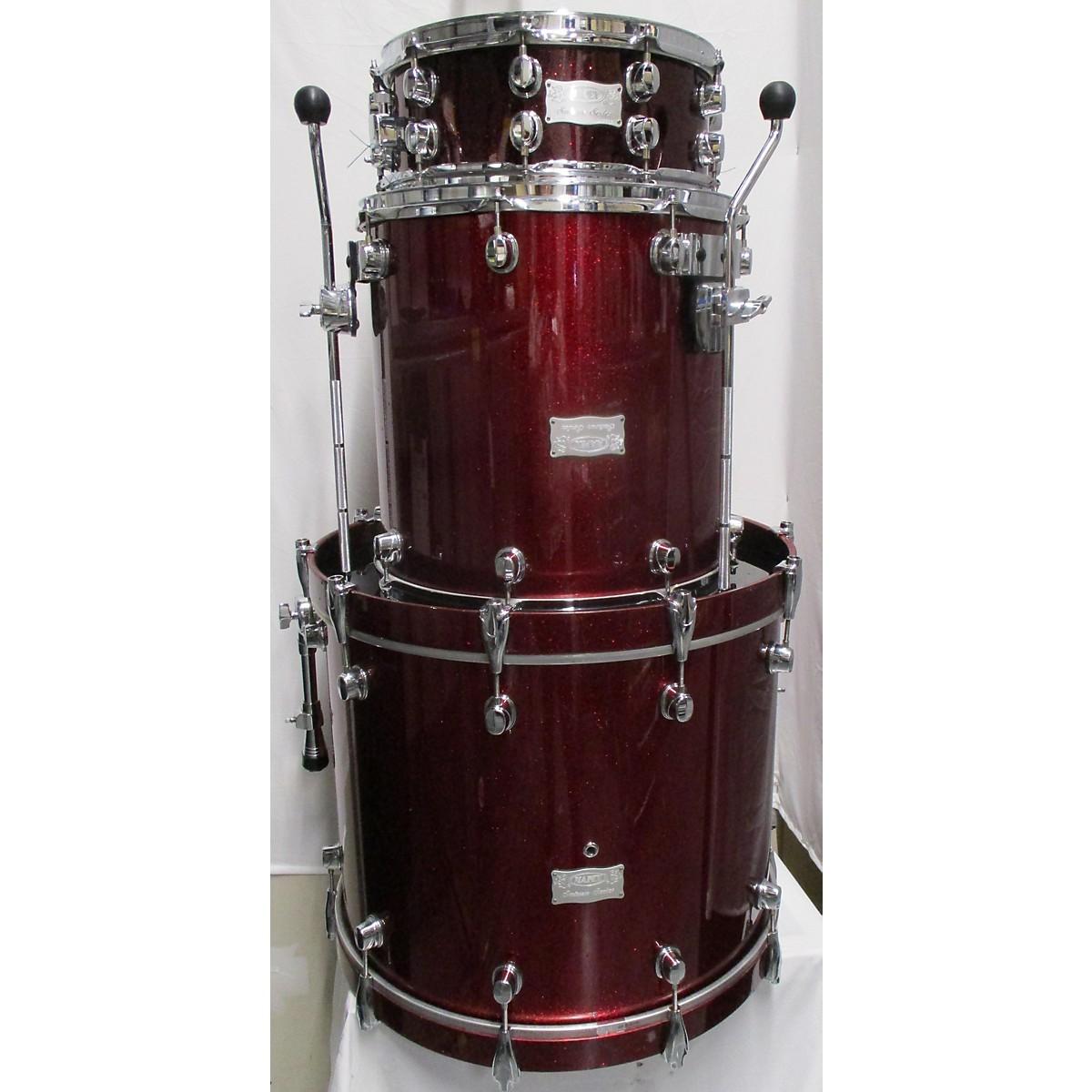 Mapex Saturn Series Walnut Drum Kit