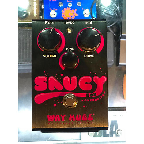 Way Huge Electronics Saucy Box Overdrive Effect Pedal